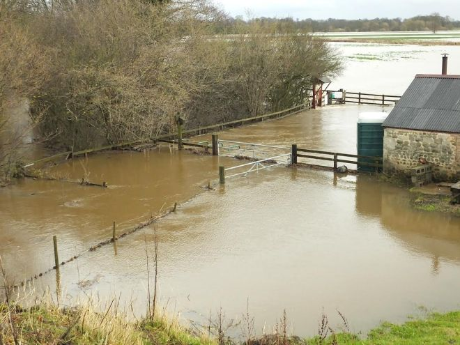 Flooding at High Batts, 06-12-15